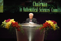 Speech by Professor Wen-Tsun WU, Chairman of the Shaw Prize in Mathematical Sciences Committee