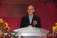 Professor Peter Goldreich, Shaw Laureate in Astronomy 2007