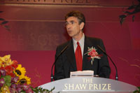 Professor Robert Lefkowitz, Shaw Laureate in Life Science and Medicine 2007