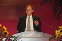 Professor Richard Taylor, Shaw Laureate in Mathematical Sciences 2007