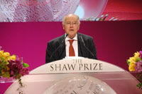 Speech by Sir Michael Atiyah, Chairman of the Shaw Prize in Mathematical Sciences Committee