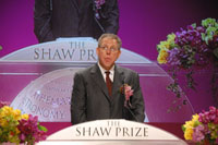 Professor Jeffrey M Friedman, Shaw Laureate in Life Science and Medicine 2009