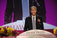 Professor Clifford H Taubes, Shaw Laureate in Mathematical Sciences 2009