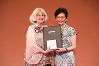 2018年度「邵逸夫生命科學與醫學獎」得獎者瑪莉-克萊爾.金教授