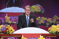 Professor Lyman Page Jr, Shaw Laureate in Astronomy 2010