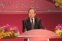 Welcome speech by Professor Chen-Ming Yang - Chairman of the Board of Adjudicators, the Shaw Prize