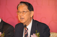 Welcome address by Professor Lin Ma, Shaw Prize Council Member, at the Press Conference 2012