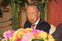 Announcement of the Shaw Laureates 2012 by Professor S W Tam, Shaw Prize Council Member