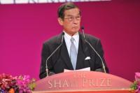 生命科学与医学奖遴选员会主席简悦威教授于2012年度邵逸夫奖颁奖典礼中致辞