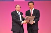 2012年度邵逸夫生命科学与医学得奖人亚瑟.霍里奇教授