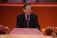 评审会主席杨振宁教授于2014年度邵逸夫奖颁奖典礼中致欢迎辞