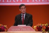 生命科学与医学奖遴选员会主席简悦威教授于2014年度邵逸夫奖颁奖典礼中致辞