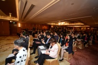 传媒机构采访2015年邵逸夫奖公布得奖者的消息