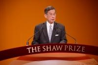 生命科学与医学奖遴选员会主席简悦威教授于2015年度邵逸夫奖颁奖典礼中致辞