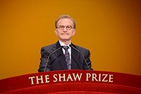 Speech by Professor Randy W Schekman - Chairman, The Shaw Prize in Life Science and Medicine Selection Committee