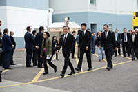 Delegation from The Hong Kong Baptist University led by the President, Prof Roland CHIN<br />