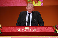 Speech by Professor Reinhard Genzel - Chairman, The Shaw Prize in Astronomy Selection Committee
