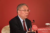 Announcement of the Shaw Laureates 2019 by Professor Wai-Yee Chan, Shaw Prize Council Member