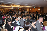 Media coverage at the Press Conference 2011