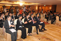 Media coverage at the Press Conference 2012