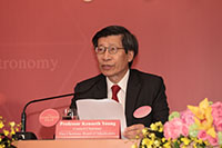 邵逸夫奖理事会主席及评审会副主席杨纲凯教授致词